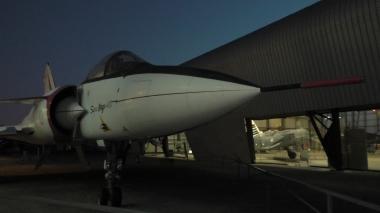 Autre point de vue du nez du Super Mirage 4000
